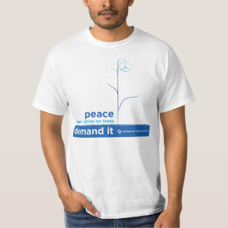 United For Peace Demand It T-Shirt