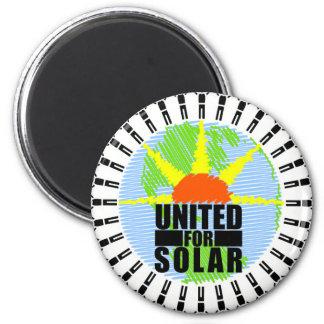 United For Solar Magnet