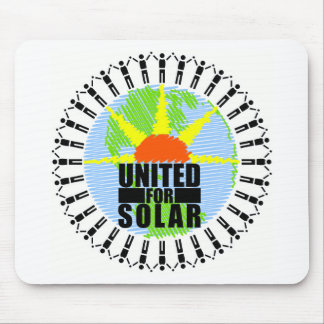 United For Solar Mouse Pad
