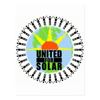 United For Solar Postcard