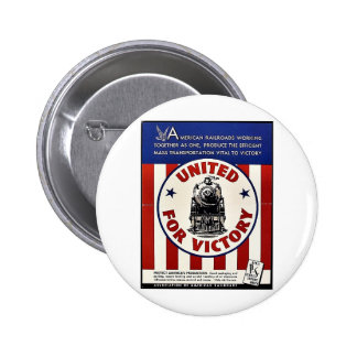 United For Victory Pins
