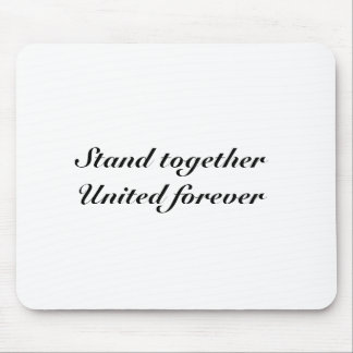 United forever mouse pad