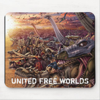 UNITED FREE WORLDS™ COLLECTION MOUSE PAD