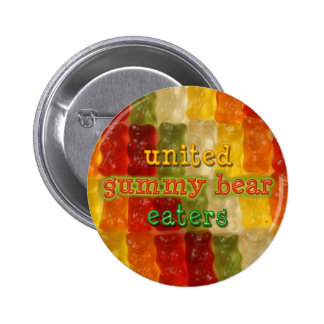 united gummy bear eaters 2 inch round button
