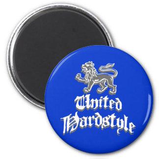 United Hardstyle 2 Inch Round Magnet