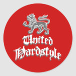 United Hardstyle Stickers