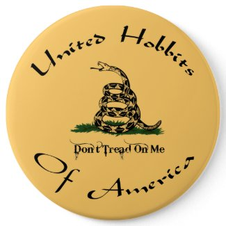United Hobbits Of America Button