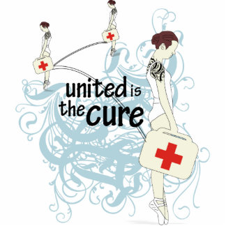 United is The Cure Photo Sculpture