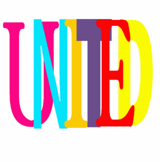 United Keychain Acrylic Cut Out