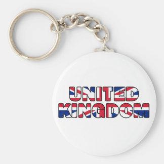 United Kingdom 004 Keychain