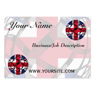 United Kingdom #1 Business Card Template