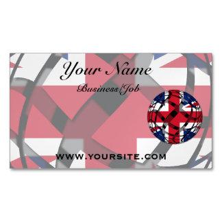 United Kingdom #1 Magnetic Business Card