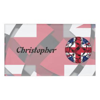United Kingdom #1 Name Tag