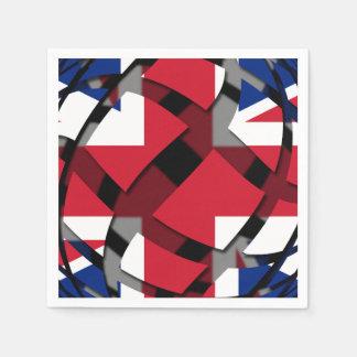 United Kingdom #1 Paper Napkin