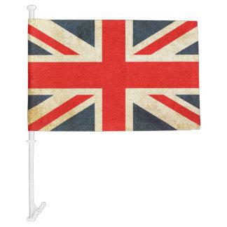 United Kingdom and USA Decorative Car Flag