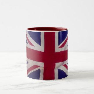 United Kingdom (British) -Mug- Two-Tone Coffee Mug