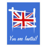 United Kingdom Brush Flag Announcement