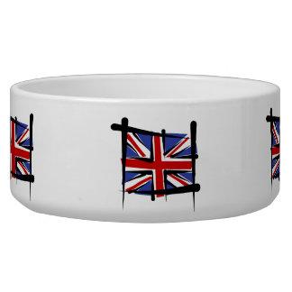 United Kingdom Brush Flag Bowl