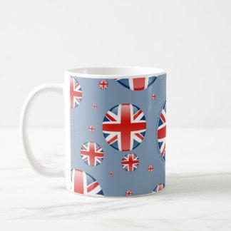 United Kingdom Bubble Flag Coffee Mug