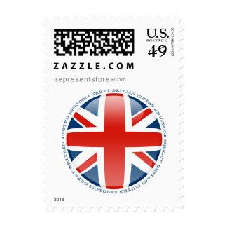 United Kingdom Bubble Flag Postage