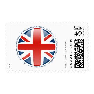 United Kingdom Bubble Flag Postage Stamp