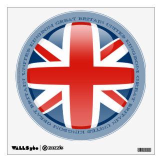 United Kingdom Bubble Flag Wall Sticker