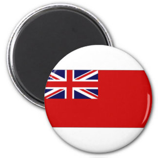 United Kingdom Civil Ensign Red Duster Flag 2 Inch Round Magnet