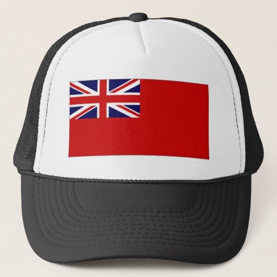 United Kingdom Civil Ensign Red Duster Flag Trucker Hat