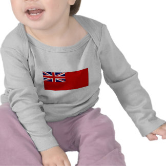 United Kingdom Civil Ensign Red Duster Flag Tee Shirt