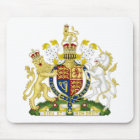 United Kingdom Coat of Arms Mouse Pad