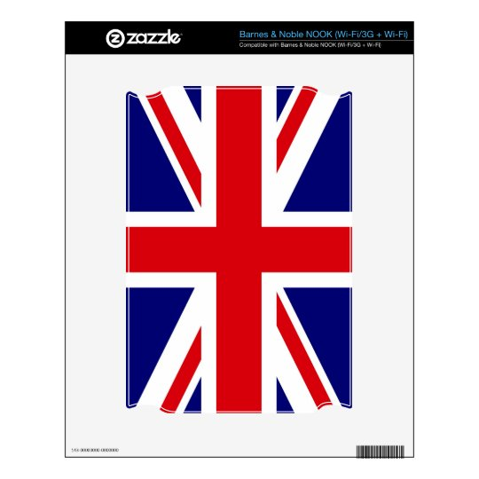 UNITED KINGDOM DECAL FOR NOOK