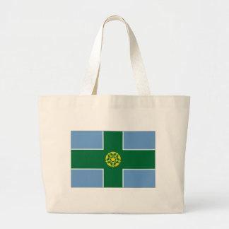 United Kingdom Derbyshire Flag Bag