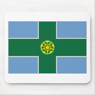 United Kingdom Derbyshire Flag Mouse Pad