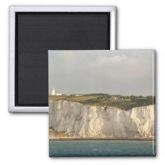 United Kingdom, Dover. The famous white cliffs Fridge Magnet