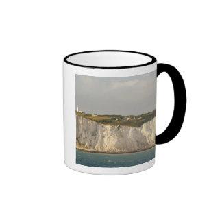 United Kingdom, Dover. The famous white cliffs Ringer Coffee Mug