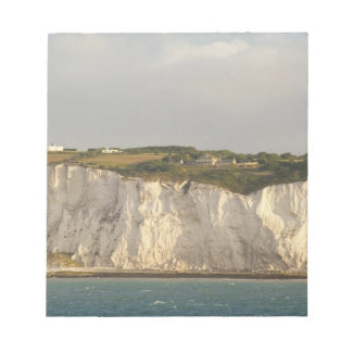 United Kingdom, Dover. The famous white cliffs Notepad