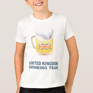 United Kingdom Drinking Team T-Shirt