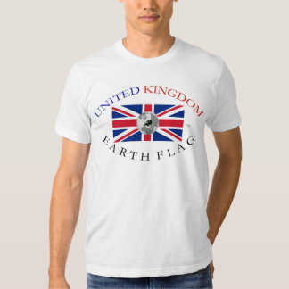 UNITED KINGDOM EARTH FLAG SHIRT