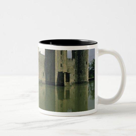 United Kingdom, England, Sussex, Bodiam Two-Tone Coffee Mug