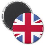 UNITED KINGDOM FLAG 2 INCH ROUND MAGNET