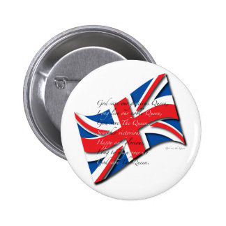 United Kingdom Flag/Anthem Button
