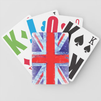 United Kingdom Flag Bicycle Playing Cards