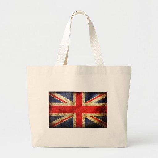 UNITED KINGDOM FLAG BOLSA TELA GRANDE