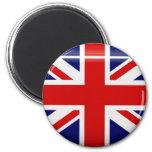United Kingdom Flag  Button Magnet