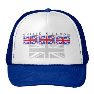 United Kingdom Flag Cap Trucker Hat