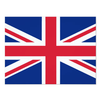 United Kingdom Flag Card