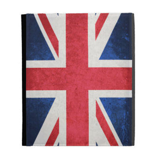United Kingdom Flag; iPad Folio Case