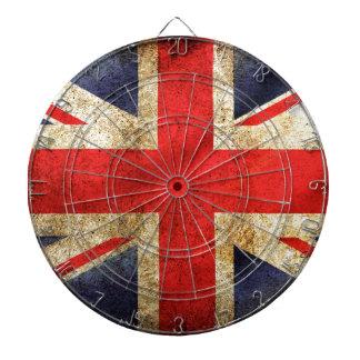 UNITED KINGDOM FLAG DARTBOARD