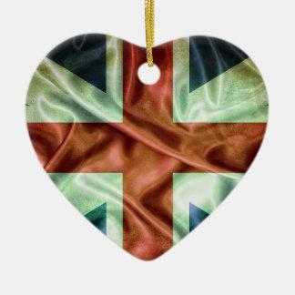 United Kingdom flag. Ornamento Para Arbol De Navidad