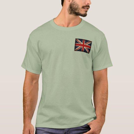 United Kingdom Flag Distressed T-Shirt